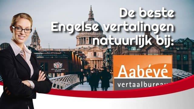 Engels vertalen
